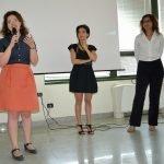 Liana Zorzi con il Sindaco di Inveruno (Mi) Sara Bettinelli e all'Assessore all'Istruzione e Cultura Nicoletta Saveri