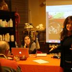 """Liana Zorzi presenta la serata """"Il magico mondo delle spezie"""" a Calolziocorte (LC)"""
